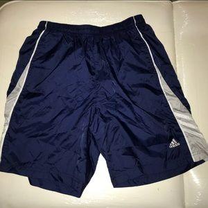 Blue adidas Track Shorts Size Small